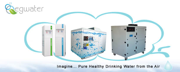 EGWater offers alternative source of healthy drinking water from the air